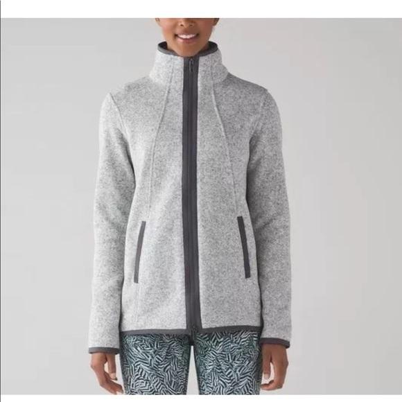 lululemon athletica Jackets & Blazers - Lululemon It's Fleecing Cold Jacket size 6